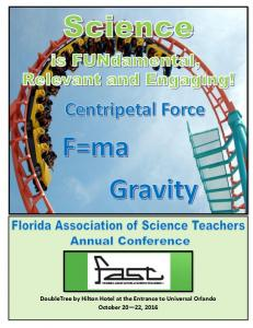 FLORIDA ASSOCIATION of SCIENCE TEACHERS