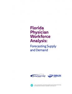 Florida Physician Workforce Analysis: