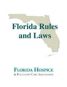 Florida Rules and Laws