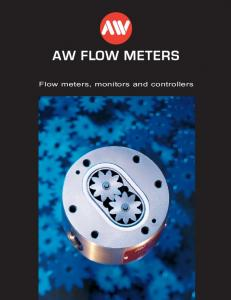 Flow meters, monitors and controllers