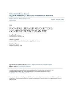 FLOWERS, LIES AND REVOLUTION: CONTEMPORARY CUBAN ART