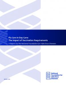 Flu Care in Day Care: The Impact of Vaccination Requirements