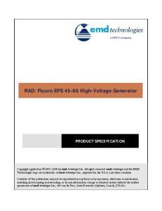 Fluoro EPS High-Voltage Generator