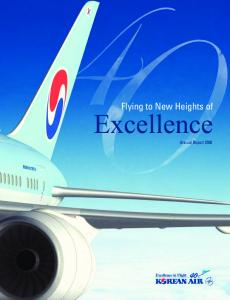 Flying to New Heights of. Excellence. Annual Report 2008