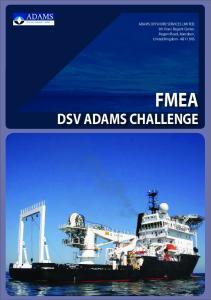 FMEA DSV ADAMS CHALLENGE