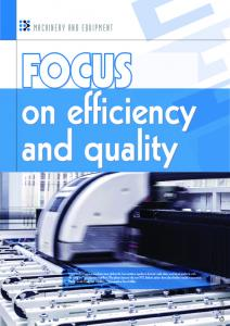FOCUS on efficiency and quality