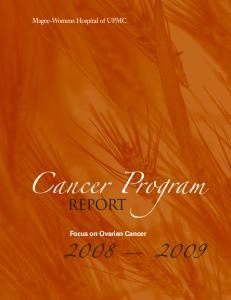 Focus on Ovarian Cancer