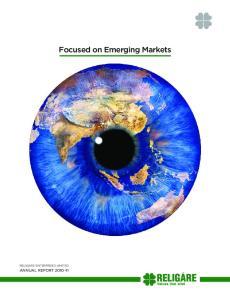 Focused on Emerging Markets