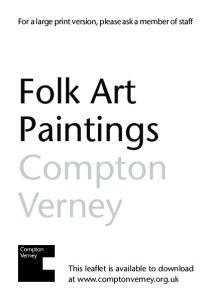 Folk Art Paintings Compton Verney