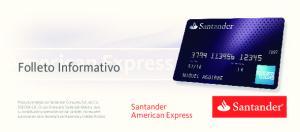 Folleto Informativo. Santander American Express