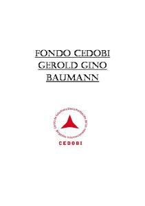 FONDO CEDOBI GEROLD GINO BAUMANN