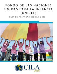 FONDO DE LAS NACIONES UNIDAS PARA LA INFANCIA (UNICEF)