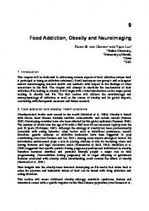 Food Addiction, Obesity and Neuroimaging