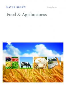 Food & Agribusiness. Practice Overview
