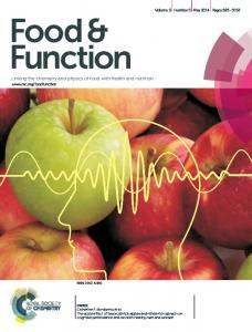 Food & Function. Linking the chemistry and physics of food with health and nutrition