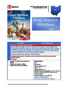 Food, Nutrition & Wellness