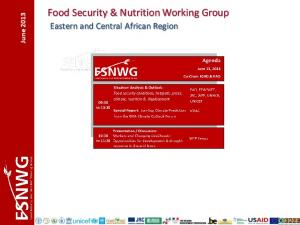 Food Security & Nutrition Working Group