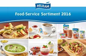 Food-Service Sortiment 2016
