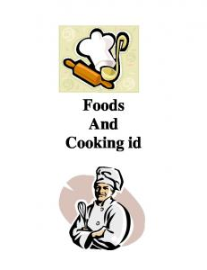 Foods And Cooking id