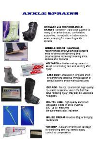 foot fractures