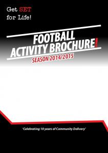 FOOTBALL ACTIVITY BROCHURE!