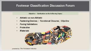 Footwear Classification Discussion Forum