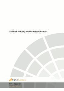 Footwear Industry: Market Research Report