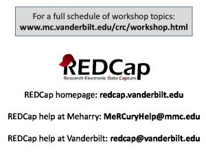 For a full schedule of workshop topics: