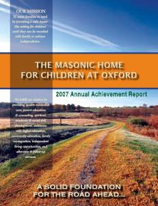 for Children at Oxford