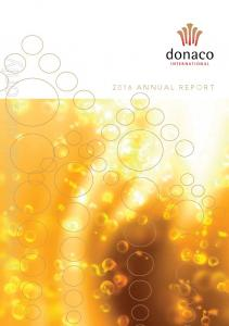 For personal use only 2016 ANNUAL REPORT