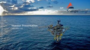 For personal use only. Investor Presentation September 2016