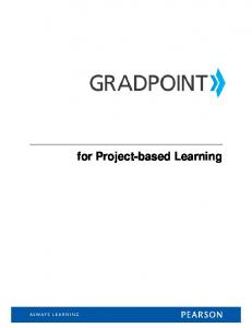 for Project-based Learning