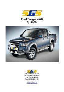 Ford Ranger 4WD Bj