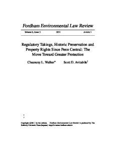 Fordham Environmental Law Review