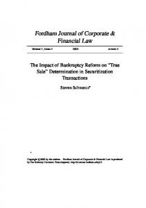 Fordham Journal of Corporate & Financial Law