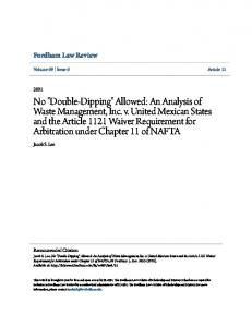 Fordham Law Review. Jacob S. Lee. Volume 69 Issue 6 Article 11. Recommended Citation
