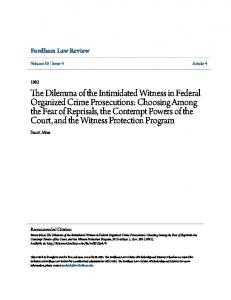 Fordham Law Review. Stuart Mass. Volume 50 Issue 4 Article 4. Recommended Citation