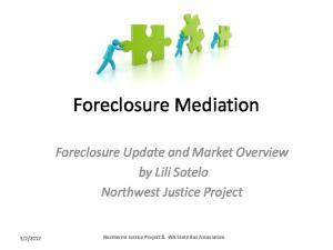 Foreclosure Mediation