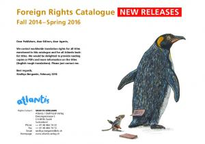 Foreign Rights Catalogue NEW RELEASES
