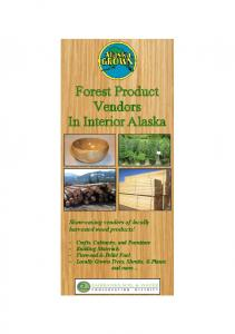 Forest Product Vendors