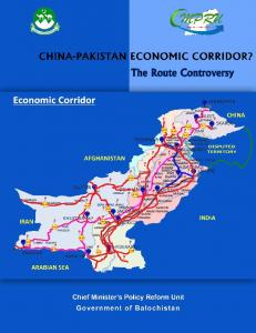 FOREWORD. Dr. Kaiser Bengali Consultant for Economic Affairs & Head, Chief Minister s Policy Reform Unit Government of Balochistan
