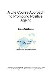 Foreword. Trustee Beth Johnson Foundation