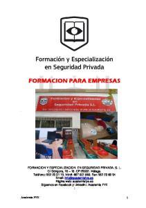 FORMACION PARA EMPRESAS
