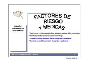 FORMACIÓN Y ORIENTACIÓN LABORAL CICLOS FORMATIVOS