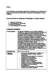 Formen der Hilfen zur Erziehung in Vollzeitpflege Im Landkreis Diepholz