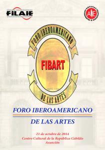 FORO IBEROAMERICANO DE LAS ARTES