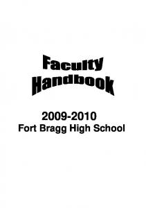 Fort Bragg High School