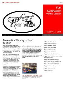Fort Gymnastics Winter Session