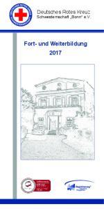 Fort- und Weiterbildung 2017