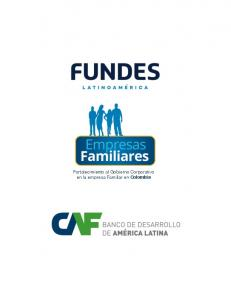 Fortalecimiento al Gobierno Corporativo en la empresa Familiar en Colombia